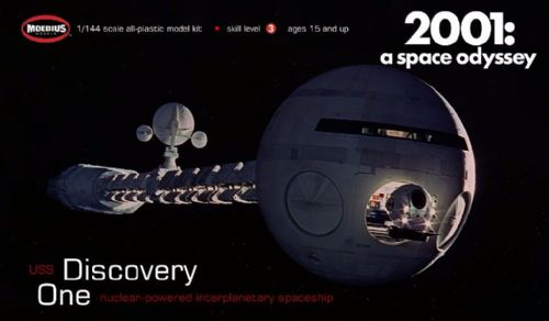 2001 A Space Odyssey Discovery 1:144 Scale Model Kit Moebius